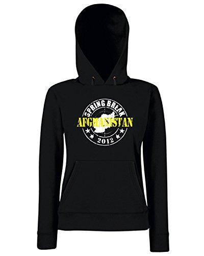 T-Shirtshock - Sweats a capuche Femme OLDENG00661 spring break afghanistan Noir