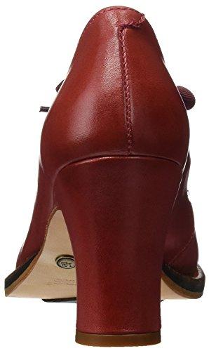 Neosens Damen S296 Restored Skin Geranium Baladi Hohe Absätze mit Geschlossener Spitze Rot (Geranium)