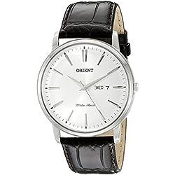 Orient Herren fug1r003W0Capital analog-display Japanisches Quarz-braun Armbanduhr