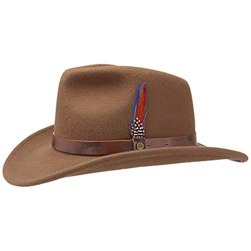 Stetson Sombrero de Fieltro Oklahoma Western Hombre - Outdoor Rodeo co