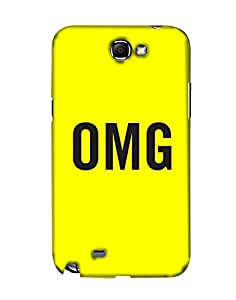 Pick Pattern Back Cover for Samsung Galaxy Note II N7100 (MATTE)