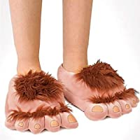 LCLrute Winter Super Der Hobbit Monster Schuhe Lustige Schuhe Für Männer und Frauen Warme Weiche Bottom Home & Haus Hallenboden Form Pelzigen Hausschuhe Untiefen 36-42