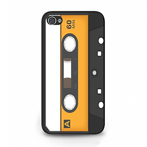 Magnetic Tape Iphone 4/4s Case Hot Cool Magnetic Tape Phone Case Cover for Iphone 4/4s Cassette Tape Unique Color115d