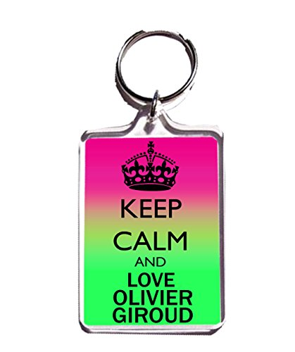 KEEP CALM AND LOVE OLIVIER GIROUD PORTE CLÉ