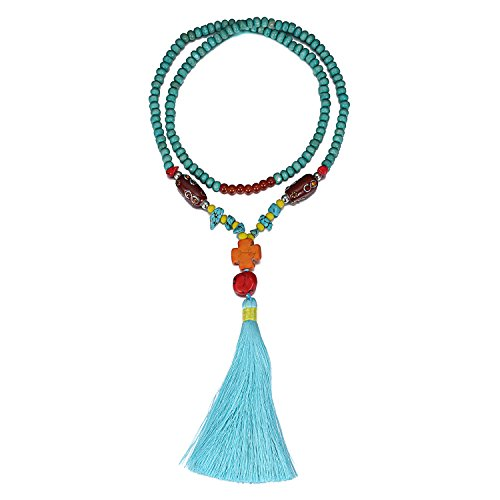 emanco-statement-collares-colgante-largo-de-borla-turquoise-beads-decoraciones-joyeria-para-mujer-az