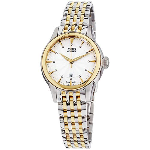 Oris Artelier Femme Diamant 31mm Automatique Montre 01 561 7687 4351-MB