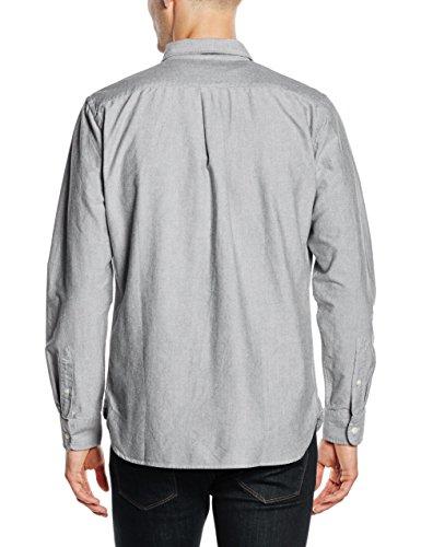 Levi's Sunset 1 Pocket Shirt, Chemise Casual Homme Gris (C23661 BLACK XX 241)