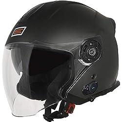 ORIGINE casque jet avec Bluetooth intégré Palio 2.0 L Matt Titanium