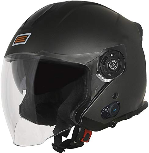 ORIGINE Casco Jet con Bluetooth Integrato Palio 2.0 (L, Matt Titanium)