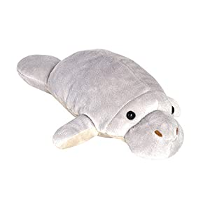 Wild Planet- All About Nature-29cm Manatee-Hecho a Mano, Peluche Realistico, (K7531)