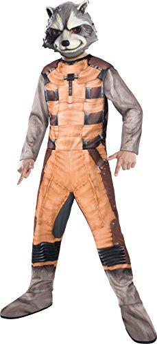 Rubie 's-Hüter der Galaxie Rocket Raccoon Kinder Kostüm (620000-l) M - Rocket Raccoon Kostüm