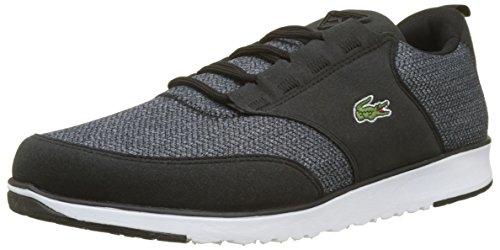 Lacoste Sport Herren L.Ight 318 3 SPM Sneaker, Schwarz (Blk/BRW 094), 47 EU