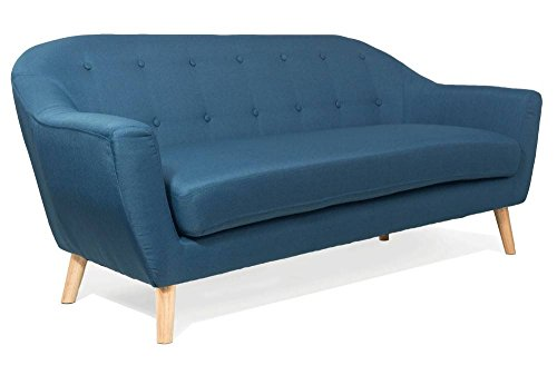 Sofa-skandinavischen-utmrkt-3-Sitzer-Azur
