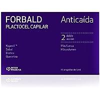 FORBALD – Plactocel capilar Tratamiento innovador anticaída cabello para hombres y mujeres. Potencia el crecimiento del cabello – 15 ampollas de 5 ml