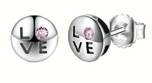 saysure-925-sterling-silver-romantic-love-pink-cz-stud-earrings