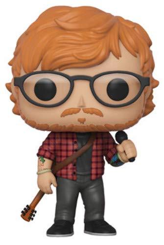 Funko 29529 Music S3 Actionfigur Rocks-Ed Sheeran, Multi, Standard