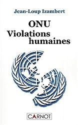 ONU, violations humaines