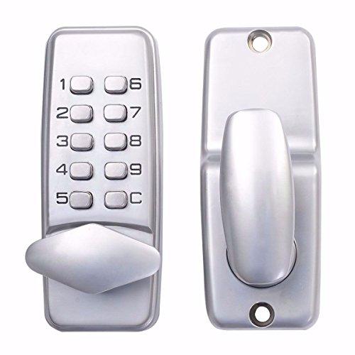 kiwin Digital mecánica contraseña cerradura de la puerta Push botón