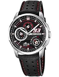 Lotus 18241/4 - Reloj de pulsera hombre, Cuero, color Negro