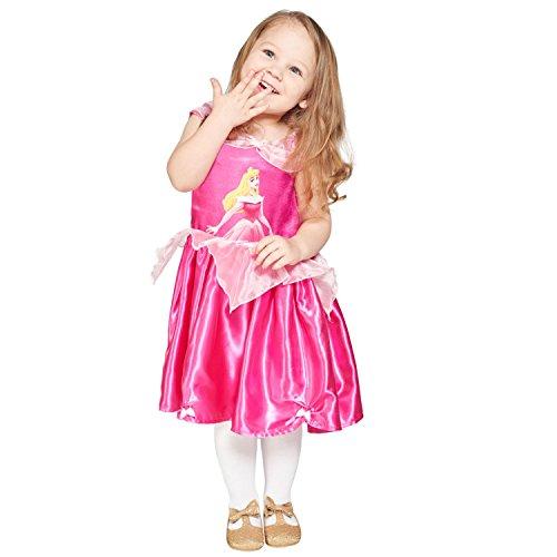 Imagen de princesas disney  disfraz bella durmiente, 12 18 meses, color rosa travis deigns dcprsbg012