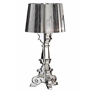 lampe de table bourgie par kartell 37cm diam argent m tallique cuisine maison. Black Bedroom Furniture Sets. Home Design Ideas