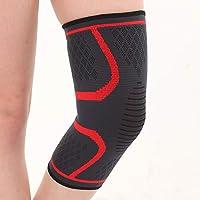 BIGBINUK rodilleras deportivas rodilleras rodilleras soporte de compresión mangas, envoltorios almohadillas para artritis, correr, alivio del dolor, recuperación de lesiones, baloncesto y más deportes