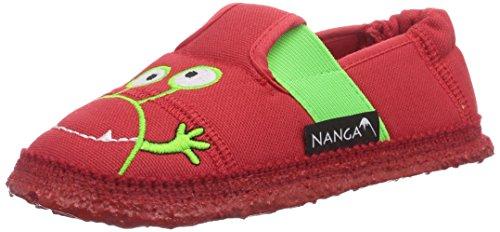 Nanga  Moonstar, Chaussons courts, non doublées garçon Rouge - Rot (Rot 20)