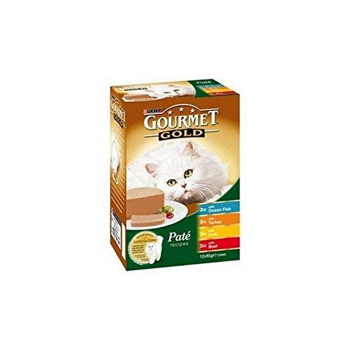 Oro Gourmet en pate Variété Mixta comida para gatos 12x 85g (de