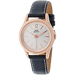 THINKPOSITIVE, Mens watch, Model SE W 130 A Big Milano,Imitation leather strap, Unisex, Color grey