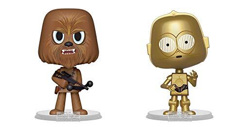 2 cm 2er-Pack: Star Wars: Chewbacca & C-3PO, Mehrfarbig ()