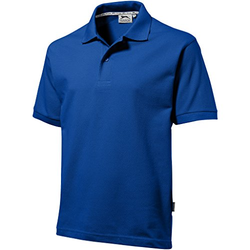 Slazenger - Polo - - Col boutonné Homme Bleu Blue - Classic Royal Blue
