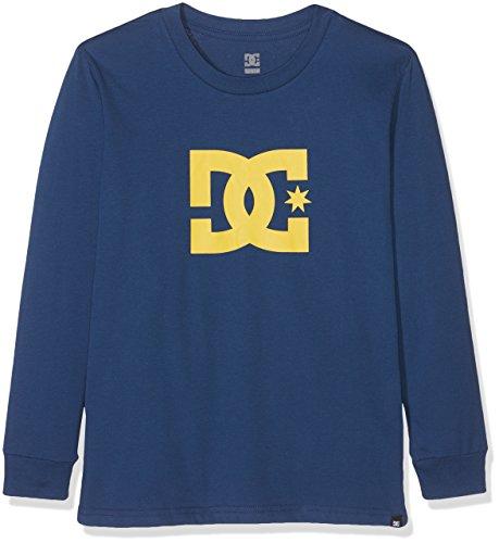 DC Apparel Jungen LS Boy Star-Long Sleeve T-Shirt, Twilight Blue, 16/XL -