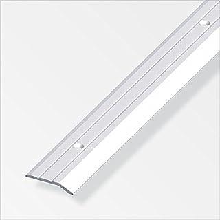 Flach-Abschlussprofil gelocht 30,0x5mm silber