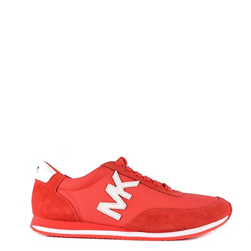 MICHAEL by Michael Kors Chaussures Stanton Coral Baskets, Femme Corail