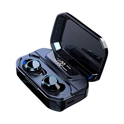 Altsommer Mini True Wireless Ohrhörer TWS, BT 5.0 IP67 Stereo Ohrhörer HIFI In-Ear Headset Bluetooth Kopfhörer Stereo Kopfhörer Integriertes HD Mikrofon, In-Ear Design für Alle Bluetooth Geräte