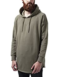 Urban Classics Long Shaped Hoody, Sweat-Shirt à Capuche Homme