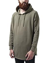 Urban Classics Long Shaped Hoody, Sweat-Shirt àCapuche Homme