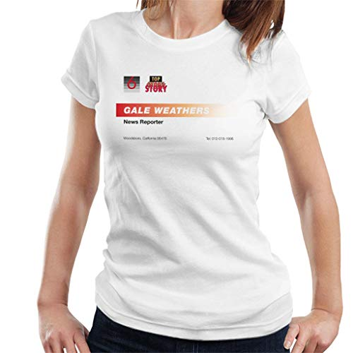 News Reporter Business Card Women's T-Shirt ()