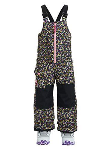 Burton Mädchen Minishred Maven Bib Snowboard Hose, Mehrfarbig, 3T 3t-hose