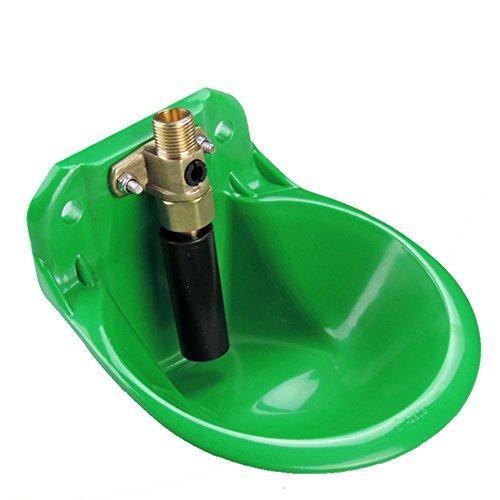 Schaf Katzenbrunnen Kunststoff Wasser Schüssel, grün