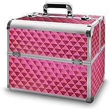 Maletín de aluminio Deluxe–Mobiles Studio 01 Diamond Rose 365 x 225 x 355 mm