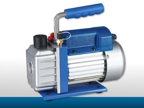 Melko® Vakuum-Pumpen Unterdruckpumpe Blau Leistung bis 100 l/min wählbar mit Motor (50 l/min) (Vakuum-motor)