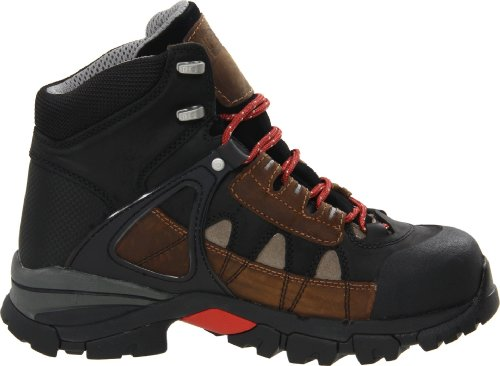 Timberland Pro Mens 6  Hyperion XL Alloy Safety Toe Waterproof Shoe  10 2E UK  Dark Brown