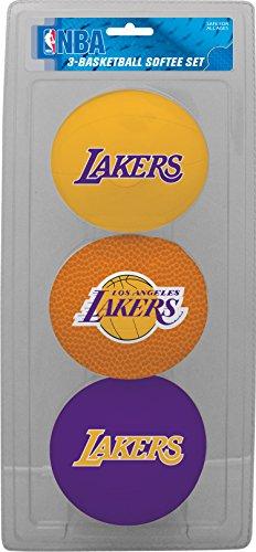 Jarden Sports Licensing NBA Charlotte Bobcats Kids Softee Basketball, unisex, LP0352, violett, S (Ball Jarden)