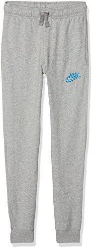 Nike Jungen Sportswear Jogginghose, Dark Grey Heather/Equator Blue, S