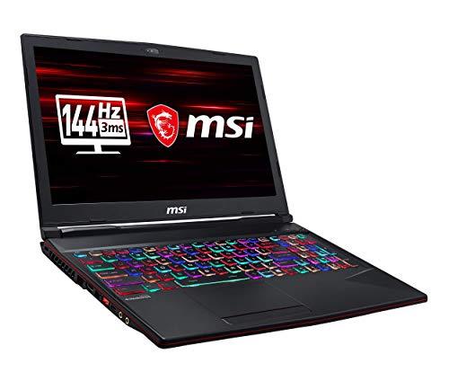 MSI GL63 9SFK-1001DE (39,6 cm/15,6 Zoll/144Hz) Gaming-Laptop (Intel Core i7-9750H, 16 GB RAM, 512  GB PCIe SSD + 1TB HDD, Nvidia GeForce RTX2070 8 GB, Windows 10 Home) Msi Pc-laptops