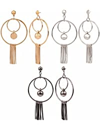 Efulgenz Jewellery Combo Of Stylish Fancy Party Wear Dangler Earrings For Girls And Women