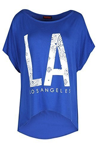 Be Jealous -  T-shirt - Maniche corte  - Donna Los Angeles Royal Blue