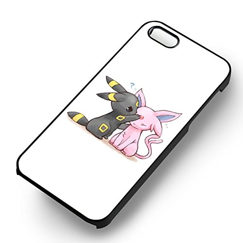 Unique Pokemon Umbreon and Espeon for Cover Iphone 5 or Cover Iphone 5S or Cover Iphone 5SE Case R4J3BG