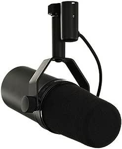 Shure SM7B microfono dinamico professionale da studio broadcast ottimizzato per parlato e canto